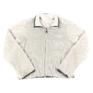 THE NORTH FACE | Faux Fur Reversible Jacket White